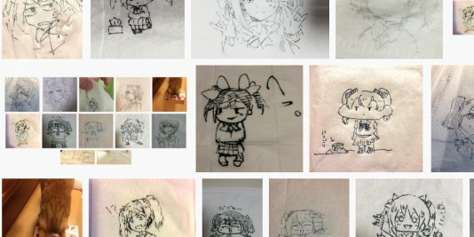 'Love Live!' Nico Yazawa drawn to tissue paper has become a hot topic in Japan.